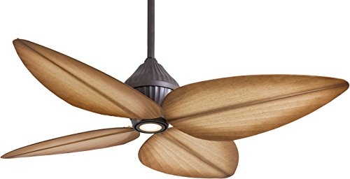 Minka-Aire F581-ORB, Gauguin Oil-Rubbed Bronze 52 inch Outdoor Ceiling Fan w/ Light & Control