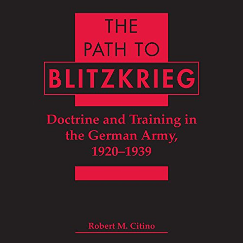 The Path to Blitzkrieg audiobook cover art