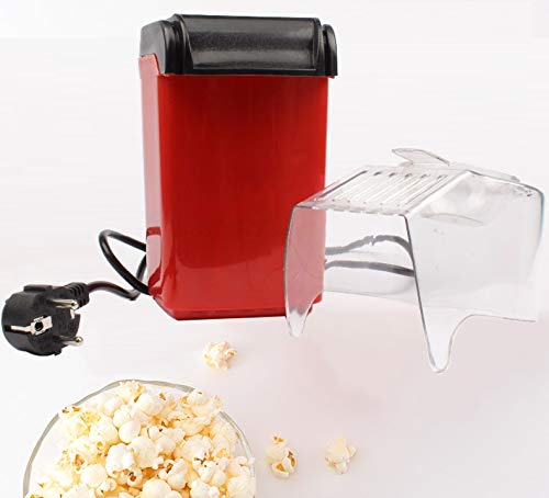 Best Deals! LYDF Hot Air Popcorn Poppers,Electric Corn Popcorn Maker Household Automatic Mini Hot Ai...