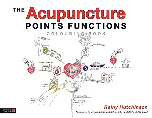 Hutchinson, R: Acupuncture Points Functions Colouring Book