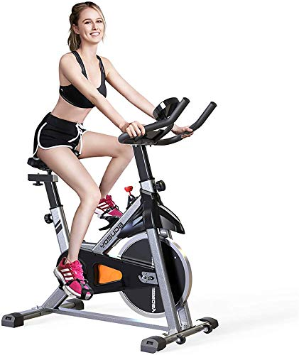 HYwot Indoor Cycling Stationary Exercise Bike with Digital Monitor And 35 LB Flywheel for Home Cardio Workout