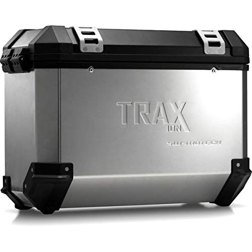 SW-MOTECH TRAX ION M Aluminium Seitenkoffer, 37L, Links, Silbern