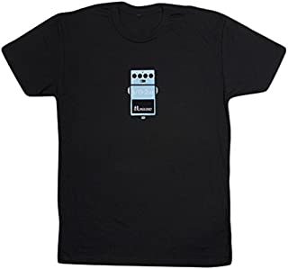 Roland WAZA VB-2W Crew Neck Black T-Shirt, S (WAZAVBTS)