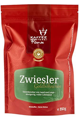 Kaffeerösterei Kirmse Zwiesler Goldböhnchen, Arabica Kaffee, 250g