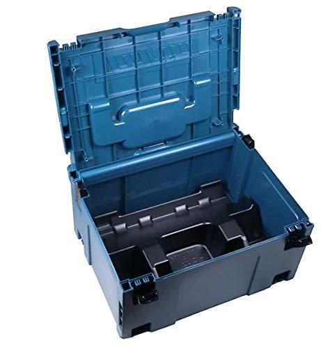 Makita MAKPAC 3 Koffer (821551-8) mit Einlage für BL18xx B Akkus + Ladegerät DC18RD (8392053)