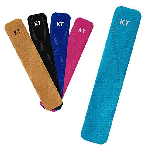 KT Tape Pro Jumbo 150 Strip Bande de kinésiologie synthétique prédécoupée Mixte, Noir Profond, Synthetic pre-Cut
