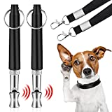 Best Dog Whistles - LFEEY Dog Whistles, 2021 New 2PCS Ultrasonic Dog Review
