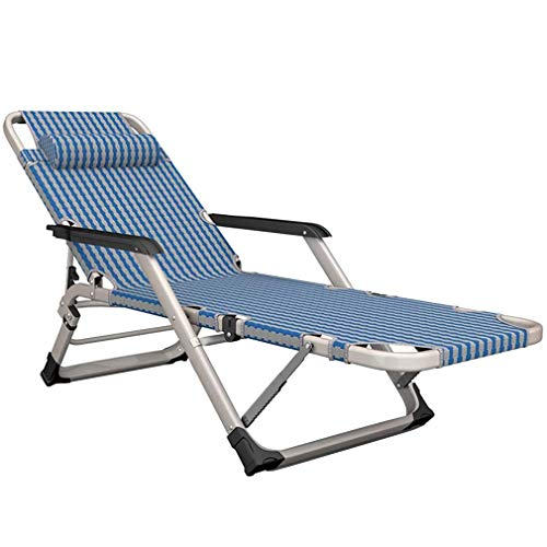 Zero Gravity Reclining and Folding Outdoor Garden Sun Lounger Chair, Reinforced Iron Alloy Tube Rack Support 440lbs, 5 Backrest Adjustment Can Lie Down