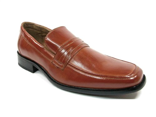 Delli Aldo Men's 19269 Brown Slip On Loafers