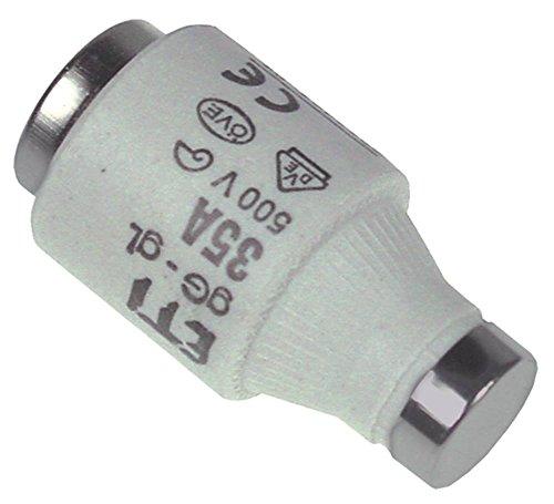 Sicherung Länge 50mm ø 27mm E33 Größe DIII 500V 35A VPE 5 Stück