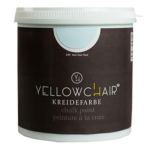 Kreidefarbe yellowchair No.244 hellblau ÖKO für Wände und Möbel 1 Liter