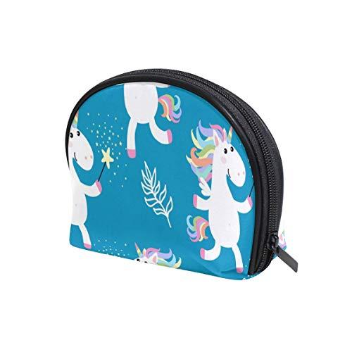 Nette Einhörner Kosmetikkoffer Make-up Taschen Reise Toilettenartikel Aufbewahrung Organizer Tasche Beauty Handy Tasche für Damen Mädchen