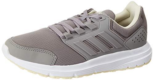 adidas Galaxy 4, Running Shoe Mujer, Dove Grey/Dove Grey/Sand, 37 1/3 EU