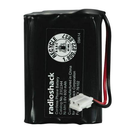 RadioShack/Enercell Rechargeable Cordless Phone Battery - Catalog No. 2302344