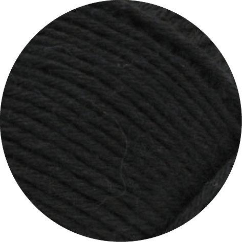 MEILENWEIT 8-fach 100g UNI 9558 - Schwarz