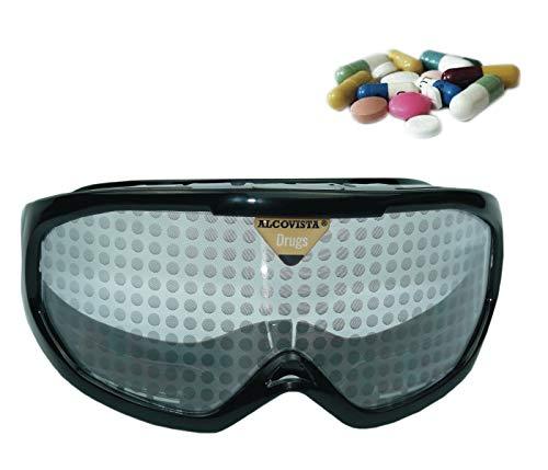ORIGINAL ALCOVISTA® Rauschbrille - Drogenbrille un Psychotropebrille
