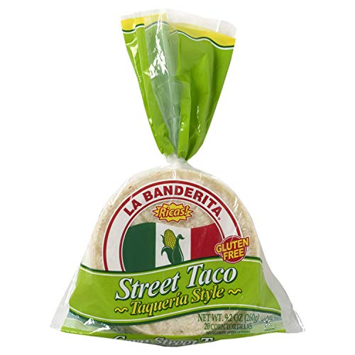 "La Banderita Street Taco Corn Tortillas | 4"" Size 