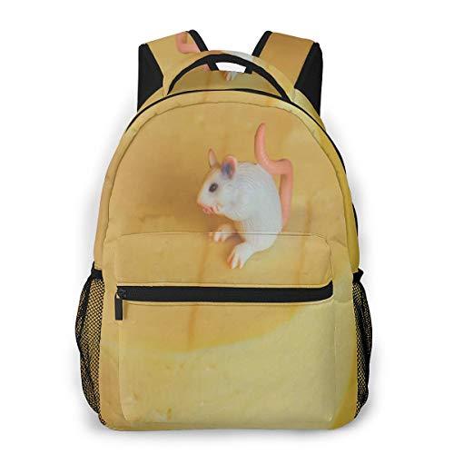 Rucksack Männer Und Damen, Laptop Rucksäcke für 14 Zoll Notebook, Spielzeugmaus Kinderrucksack Schulrucksack Daypack für Herren Frauen