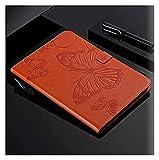 Accesorios de pestañas para Samsung Galaxy Tab a 10.1 Pulgadas de, Funda Funda Tablet PU Cuero de Cuero de la Cubierta de la Cubierta de la Cubierta para Samsung Galaxy Tab (Color : Orange)