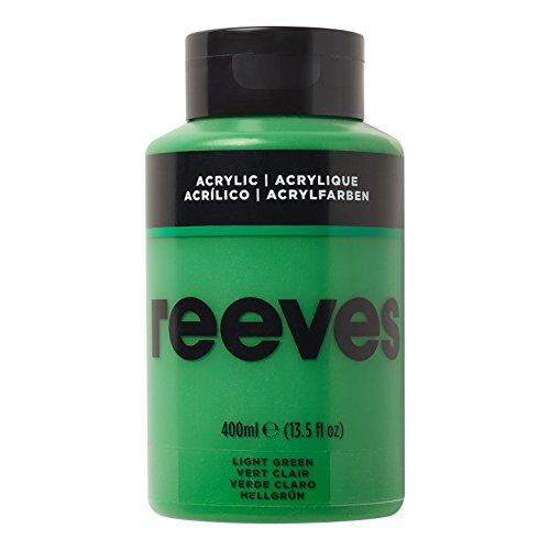 Reeves - Pintura acrílica 400 ml, Verde Claro