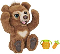 FurReal Cubby, The Curious Bear Interactive Plush Toy, Ages 4 and Up