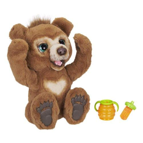 FurReal Cubby, The Curious Bear Interactive Plush Toy, Ages 4 and...