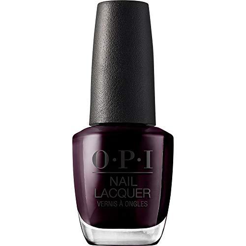 OPI Nail Lacquer - Nagellack in Schwarztönen mit bis zu 7 Tagen Halt - Ergiebig, langlebig &...