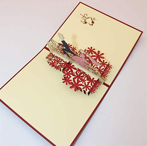 NAN Tarjeta Postal/Postal Vintage/Postal de Arte/Postal navideña/Postal del día de San valentín