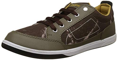 Unistar Men's Brown Sneakers-6 UK/India (40 EU) (E-6001)