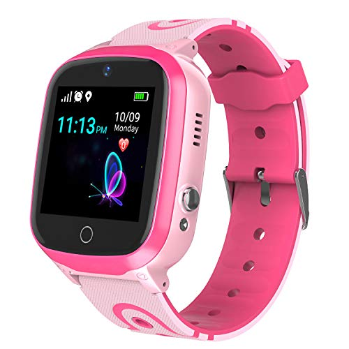 Smart Watch for Kids - Boys Girls Smartwatch Phone with Waterproof GPS Tracker