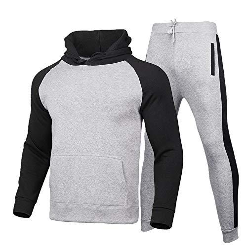 Hombres Deportes Sudaderas Traje De Dos Piezas Sudaderas Pareja Desgaste Hip Hop Sudadera Hombre Streetwear