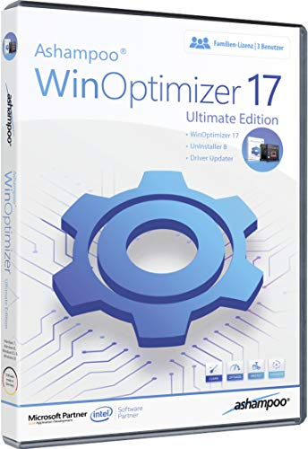 WinOptimizer 17 Ultimate Tuning Software 3 USER Lizenz für Windows 10 / 8.1 / 8 / 7