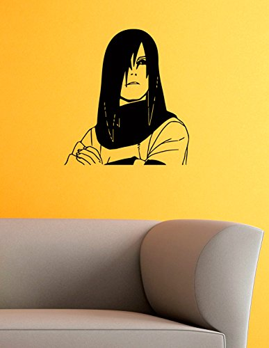 Orochimaru Vinyl Wall Decals Ninja Apostate The Legendary Trinity Anime Naruto Shippuden Japan Manga Comics Decal Sticker Vinyl Murals Decors IL0734