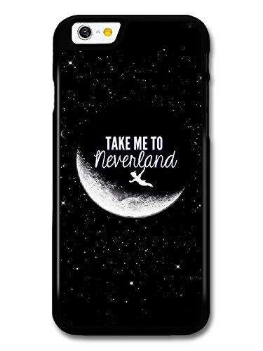 Micro Gorilla Take Me to Neverland Peter Pan Movie Quote Custodia per iPhone 6 6S