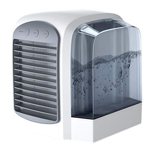 USB fan USB mini fan, 3-speed, USB fan low noise, with 380ml large water tank for office, home and outdoor