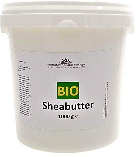 Sheabutter BIO 1000 g 100% rein Karitebutter parfümfrei & vegan