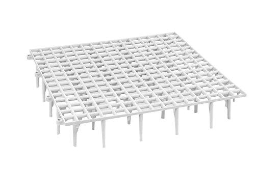 20 Bodenroste Geflügelrost Geflügelgitter Fußbodenroste für Tauben - Hühner Geflügel