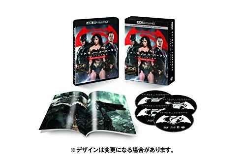 【Amazon.co.jp限定】バットマン vs スーパーマン ジャスティスの誕生 アルティメット・エディション(4枚組)(オリジナル特典映像Blu-ray DISC付)[4K ULTRA HD+3D+Blu-ray]