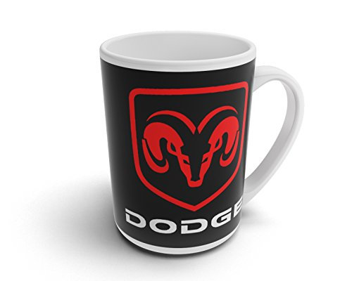avstickerei Dodge Pickup ram Tasse Kaffeebecher Fototassen Kaffee Tasse - T042