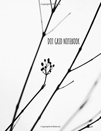 Dot Grid Notebook: Minimalist NoteBook Large (8.5 x 11 inches) - 120 Dotted Pages