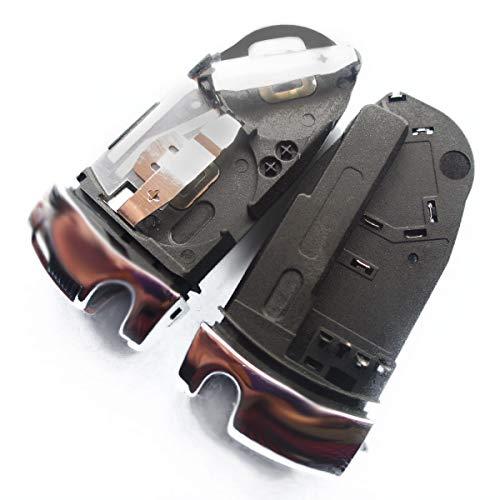 Auto Schlüssel Funk Fernbedienung 1X Batteriehalter kompatibel für Mercedes Benz W169 C169 W203 S203 W204 S204 CL203 CL204 W210 S210 W211 S211 W212 S212 C208