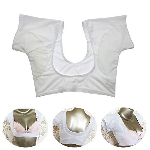 Réutilisable Coussins Aisselles 1 Pièce Anti Coussinet Transpirant Protège Aisselles Absorbant Odeur Lavable,L