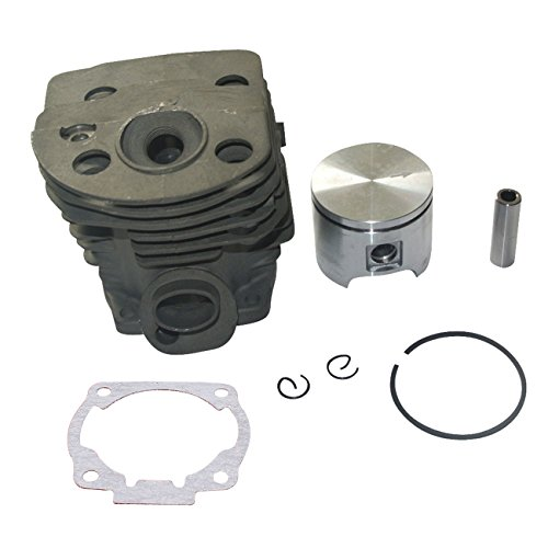 Motor Kit de cilindro pistón huntgold yogastudio advpro anillos 46 mm para Husqvarna 51 55 Chiansaw