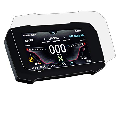 Speedo Angels Nano Glass Displayschutzfolie Tachoschutzfolie für Tiger 900 GT/Rally (2020-) x 2