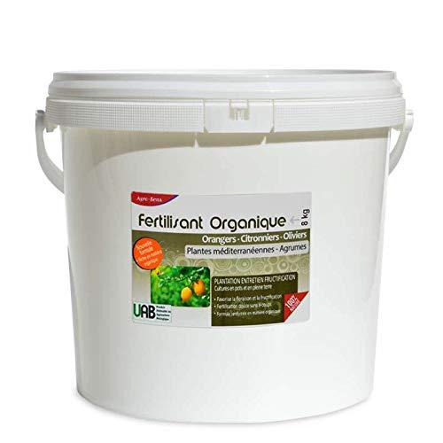 Fertilisant Professionnel Agrumes, orangers, citronniers, oliviers. 8 kg