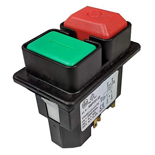 Einbauschalter Tripus 306P201.02 Nullspanungsschalter mit ausgeführter Spule 230V / 50Hz 16/14,5 A IP54