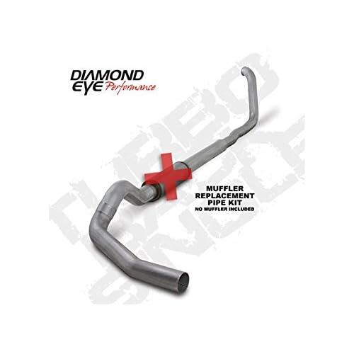 "98-03 Diamond Eye Power Stroke Diesel E-Series Van 4/"" Turbo Back Down Pipe AL"