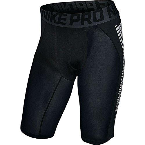 Nike Herren F.C. Slider Shorts, Black/Silver, XL