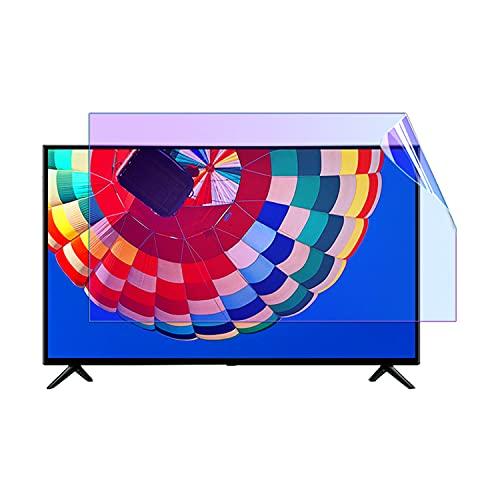 JCOCO TV Anti Blue Light Film Protector De Pantalla Anti-Glare LCD TV Accesorios para 32-65Inch Blue Light Filter Versión HD Protectores De Pantalla De Monitor