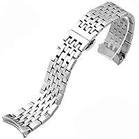 [エイト] 腕時計ベルト 19mm シルバー ステンレス ESB409 [並行輸入品]